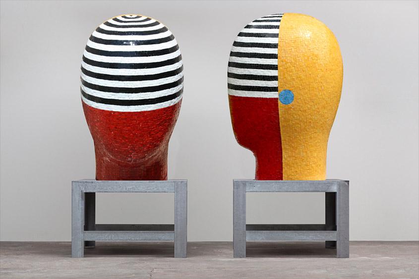 Jun-Kaneko-cabezas-gigantes-arte-mosaico-mvm-studios