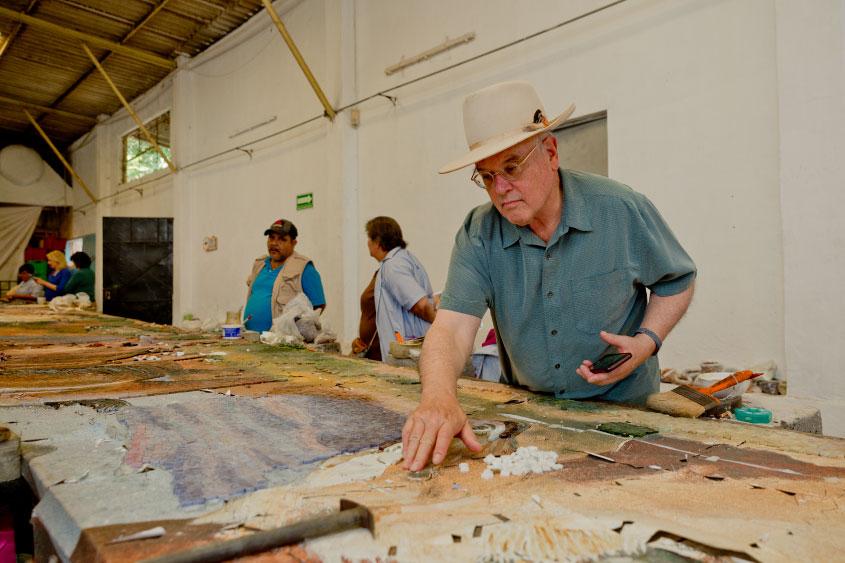 mural-los-caballos-William-Matthews-mosaicos-venecianos-mvm-studios9